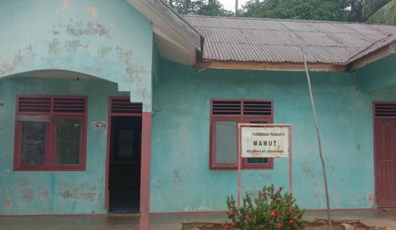 Kondisi Kumuh dan Termakan Zaman, Pustu Desa Mamut Belum Tersentuh Bantuan