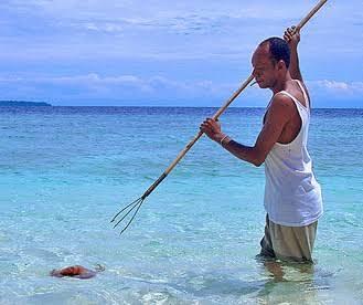 Serampang, Alat Tangkap Ikan Tradisional Khas Bintan