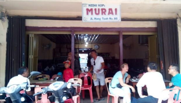 Kedai Murai di Tarempa, Sajikan Kopi Hitam Tanpa Ampas