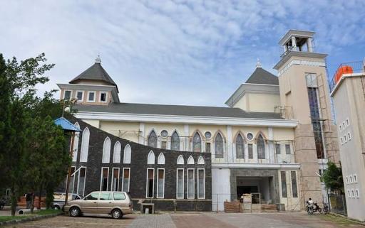 Megahnya Bangunan Santo Petrus Baloi, Gereja Pertama di Kota Batam