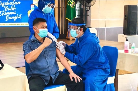 Keren.. Capaian Vaksinasi COVID-19 di Kepri Tertinggi Ketiga Nasional