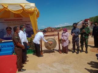 Pulau Dompak Tanjungpinang Jadi Lokasi Pembuatan Pesawat Apung