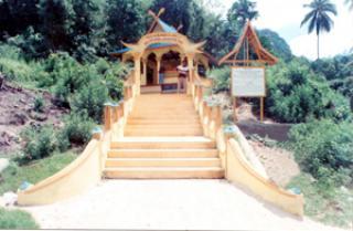 Makam Sultan Abdullah Mua'yat Syah di Pulau Tambelan, Tingginya Hingga 1 Meter